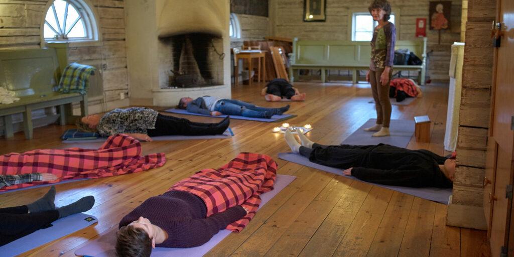 Geijerskolan sommarkurs - Mindfulness yoga